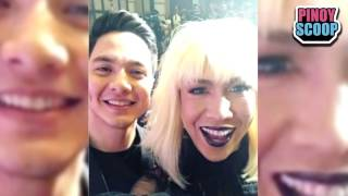 Vice Ganda Took A Selfie With Alden Richards