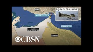 Iran shoots down U.S. military drone over Strait of Hormuz