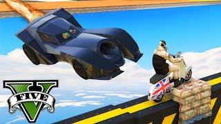 GTA V Online: MOTOS vs BATMÓVEL - A MAIOR LOUCURA!!! (TROLLADO)