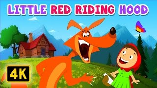 Little Red Riding Hood | Bedtime Stories | English Stories for Kids and Childrens
