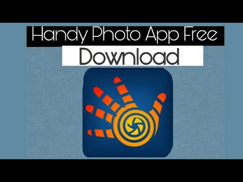 How to download handy photo app for free
