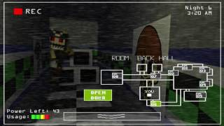 Five Nights At Aiden's: Night 6 Complete!!!! + (Extras)