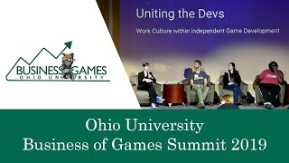 Ohio University Business Of Games Summit 2019 — Uniting The Devs