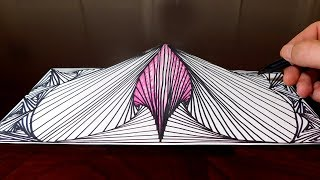 Quick 3D Doodle Sketch - Easy!!