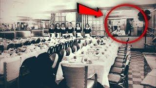 الرجال الثلاثة الذين سافروا عبر الزمن وشاركوا في عشاء لعام 1930..!!