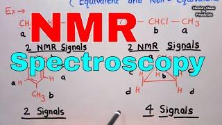 NMR Spectroscopy [nuclear magnetic resonance] ; Basic principle & Interpretation of organic spectra