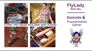 Fly Lady With Me || Episode 6 || Procrastinated Clutter ||