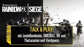 Talk & Play - 07.05.2017 - Tom Clancy
