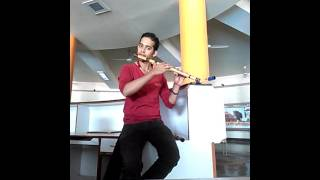 Mahabharat krishna tune on flute  golden flute ( Bansuri )