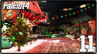 Fallout 4 - Christmas Easter Egg, Winter Wonderland Mod & Sea Monster Quest!  (Let's Play #11)
