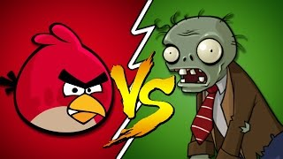 Angry Birds Vs Plants Zombies
