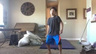 Side flip progression in 4 days