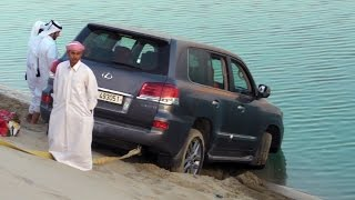 - Rescues Cars from the Sea نيسان يسحب مواترمن البحر