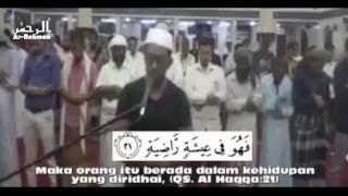 Murattal Alqur'an QS  Al Haqqah 13 37   Pria Berkaos Jadi Imam Dadakan