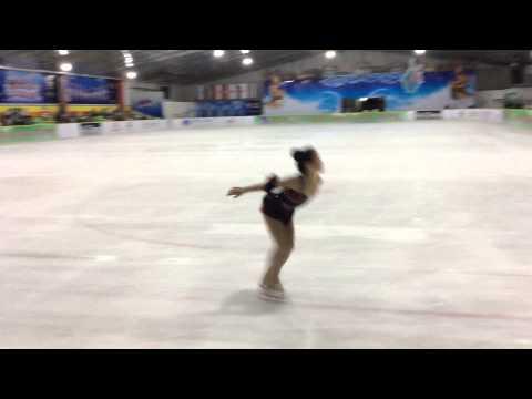 2015 Asian Open Figure skating Trophy _Shih-Ching Chen_Basic Novis A Girl