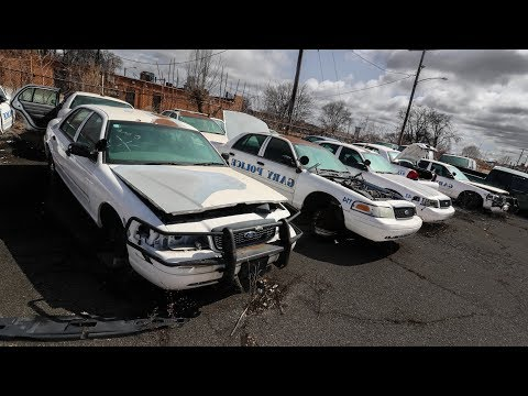 Abandoned Police Impound Yard Found REAL Crime Scene Evidence