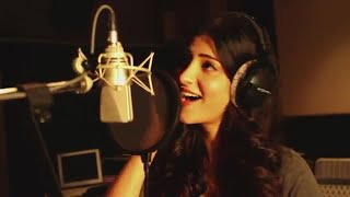 Main Gabbar |  Shruti Hassan Sings New Song For Herself