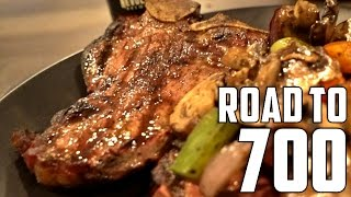 Steaks, Beers & Heavy Deads | Road to a 700lb Deadlift | Ep. 5