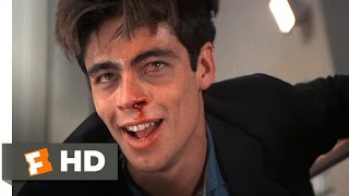 Licence to Kill (8/10) Movie CLIP - Dario Gets Shredded (1989) HD
