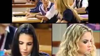 Roberta e pilar brigam na sala de aula