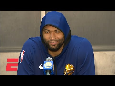 DeMarcus Cousins felt like a kid on Christmas in Warriors debut NBA Sound