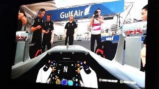 f 1 2016   racing at  Bahrain