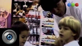 Marcelo Tinelli, cámara oculta en juguetería, Parte 1 - Videomatch 98