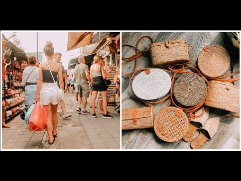 HOW TO SHOP IN THE UBUD BALI MARKET