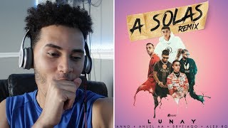 (Reaccion) A Solas Remix - Lunay x Lyanno x Anuel AA x Brytiago x Alex Rose ( Video Oficial )