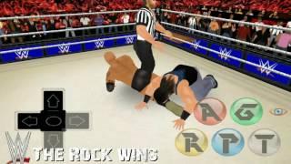 Wr3d-Cena Saves Rock! Wrestlmania 32