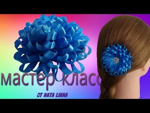 Резинки для волос своими руками из узких атласных лент
