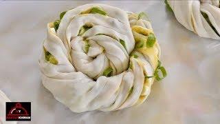 Potato & Spring Onion Bread