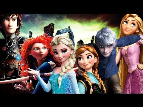 Rise of the Frozen Brave Tangled Dragons - The Battle (Narnia Soundtrack)