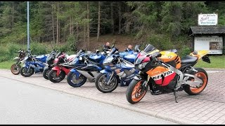 Epic motorcycle trip Black forrest Germany || With big crash!