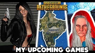 PUBG INDIA MAP AND MY OTHER UPCOMING GAME UPDATE VIDEO || FINESTLY || INDIAN GRANNY || APEX LEGEND