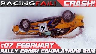 Rally Crash Compilation Week 7 February 2018 | RACINGFAIL