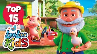Old MacDonald Had a Farm - TOP 15 Songs for Kids on YouTube