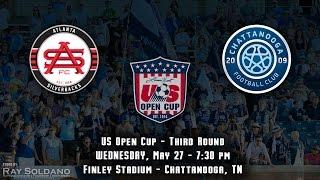 Atlanta Silverbacks at Chattanooga FC - US Open Cup Round 3, 2015
