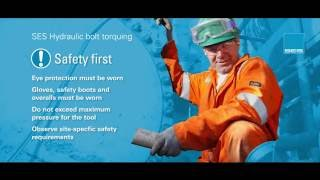 SES' Bolt Torquing hands free wrench