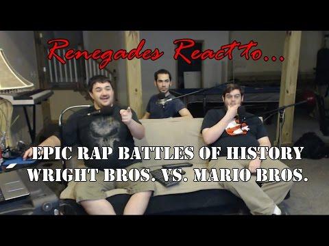 Renegades React to... Epic Rap Battles of History Wright Bros. vs. Mario Bros