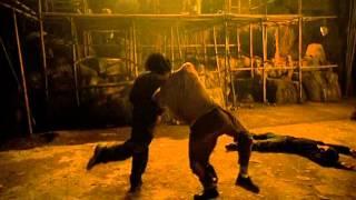 Tony Jaa Parkour Fight