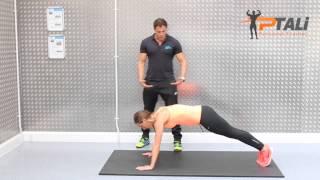 HIIT workout - ابسط طريقه لعمل تمارين الهيت لحرق الدهون شد الجسم