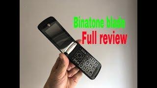 The New Binatone Blade Flip Phone Full Review UK