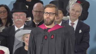 Graduate Speaker Walter Smelt III  | Harvard Commencement 2017