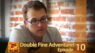 """Double Fine Adventure! EP10: """"Part One of Something Great"""""""