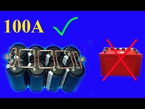 Xxx Mp4 12V 100A Using Super Capacitors Amazing Idea 3gp Sex