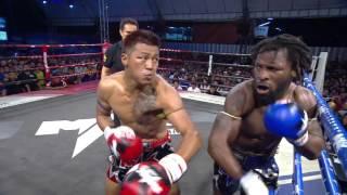 USA VS THAILAND) Max Muay Thai Ultimate 2016 (27 MARCH) Match 2 WARREN VS KLAROB