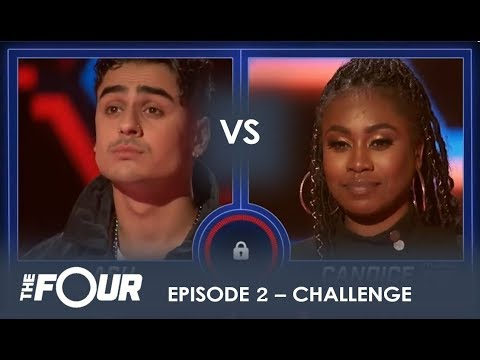 Xxx Mp4 Candice Boyd Vs Ash Minor The CLOSEST Sing Off Battle Yet S1E2 The Four 3gp Sex