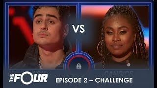 Candice Boyd vs Ash Minor: The CLOSEST Sing-off Battle Yet! | S1E2 | The Four