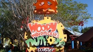 Woody Woodpecker's Nuthouse Coaster Front Seat On-Ride POV